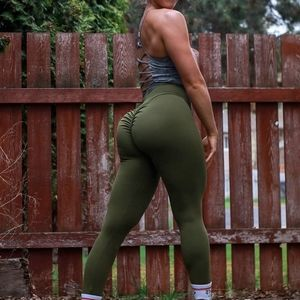 Booty Lifting Gym Leggings with Pockets
